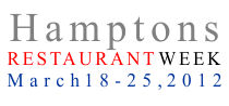 HAmptons Restaurant Week 2012