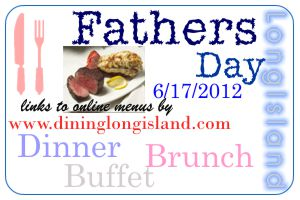 Father's Day dining deals for the family. Father's Day is always a bit of an enigma; the big, tough guy says he doesn't like to be fussed over, but secretly you know he wants that extra indulgence and appreciation just for him! The Seafood Semi-Buffet Father's Day Dinner kicks off with a selection of appetisers and salads and.